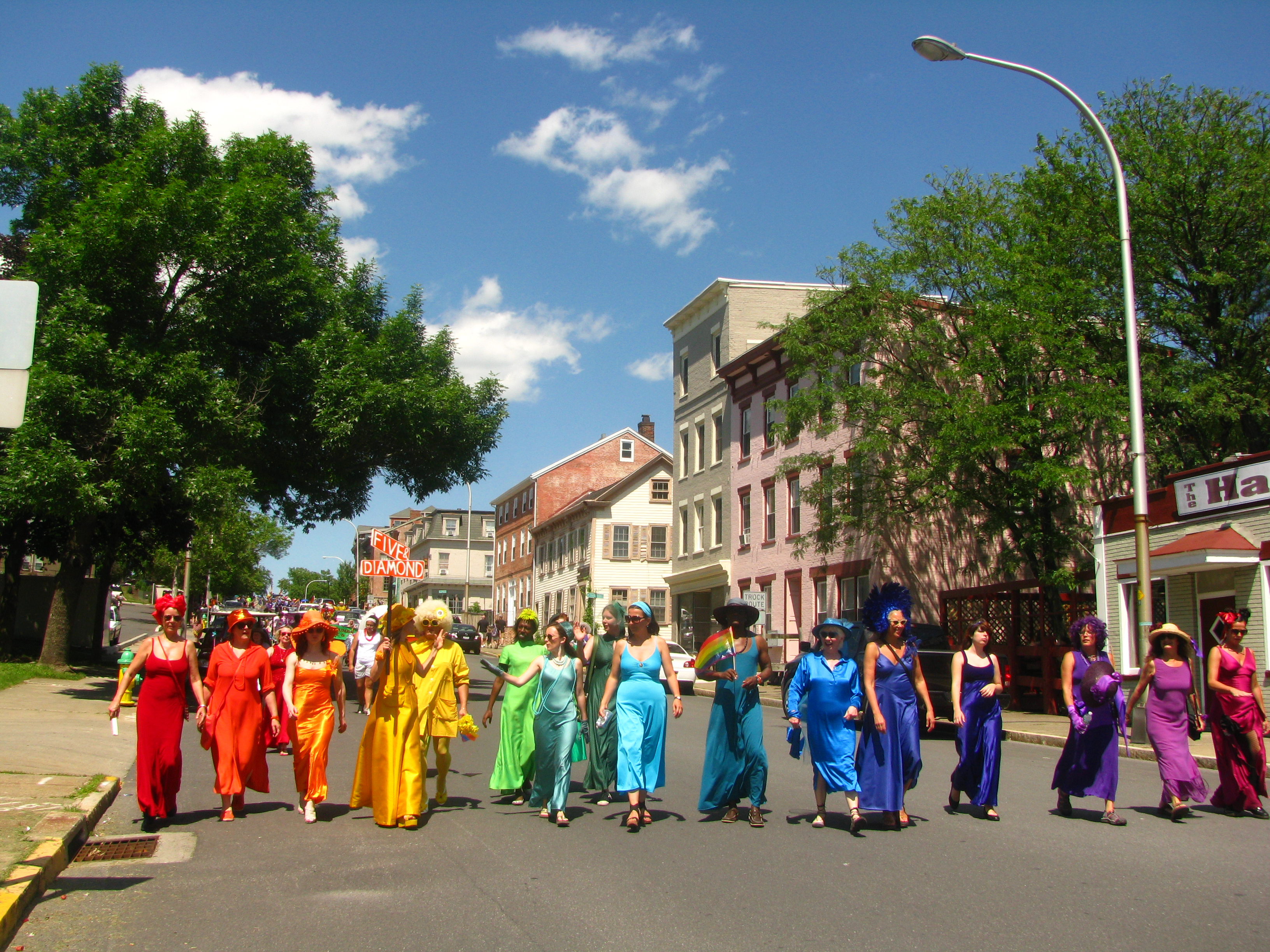Celebrating Pride in Hudson, NY - Sweet and Savoring