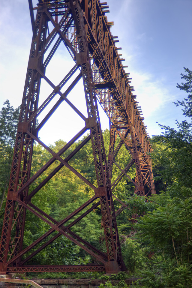 Rosendale Trestle: Adventures with the Kid - Sweet and Savoring [photo by Andy Milford]
