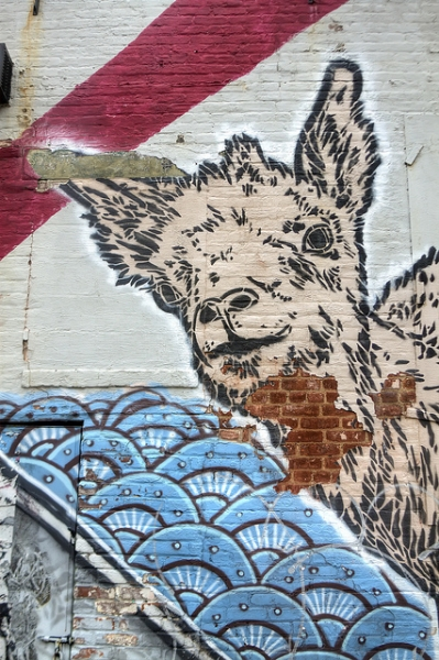 Brooklyn Street Art Part II - Sweet and Savoring [photo by Andy Milford]