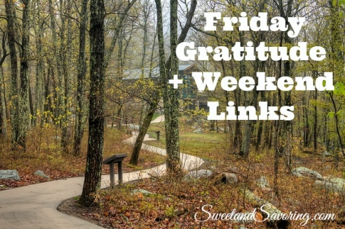 Friday Gratitude + Weekend Links - Sweet and Savoring [photo by Andy Milford]