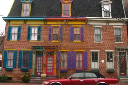 Walking Around Harrisburg: Doors & Architectural Quirks - Sweet and Savoring