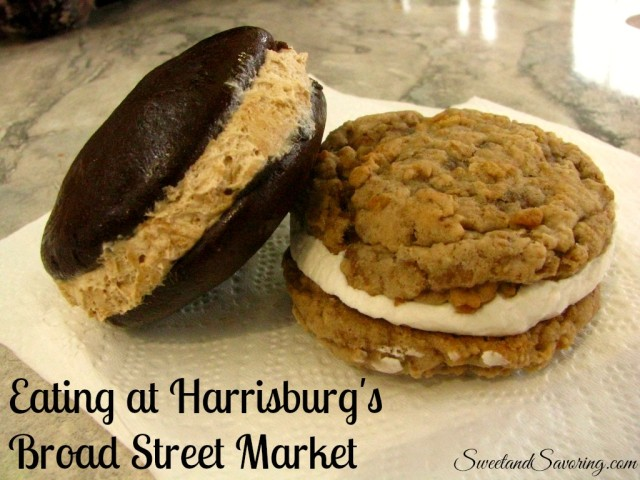 Eating at Harrisburg's Broad Street Market - Sweet and Savoring