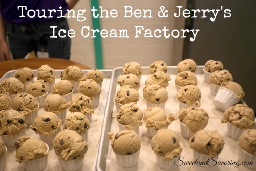 Touring the Ben & Jerry's Ice Cream Factory - Sweet and Savoring [photo by Andy Milford]