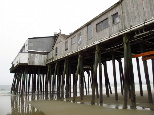 Scenes from a Gray Day: Old Orchard Beach, Maine - Sweet and Savoring