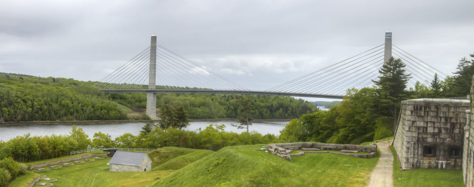 To Do In Maine: Penobscot Narrows Bridge Observatory - Sweet and Savoring [photo by Andy Milford]