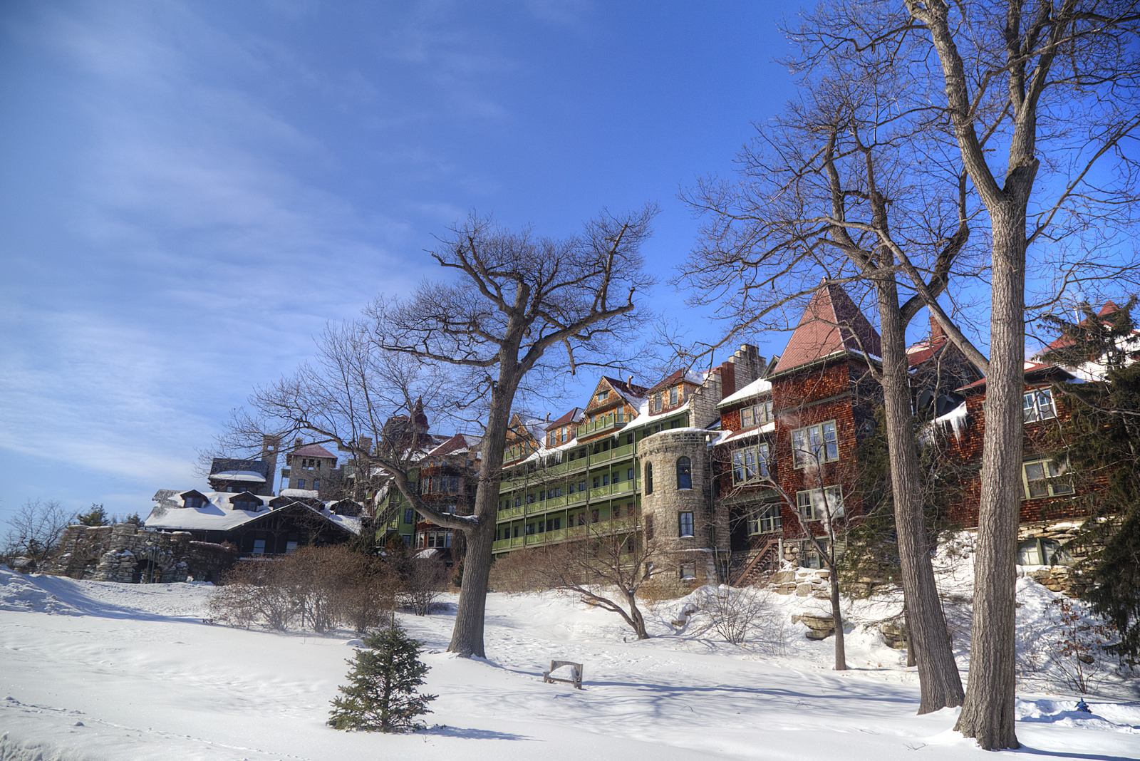 A Winter Visit To Mohonk Mountain House Sweet And Savoring