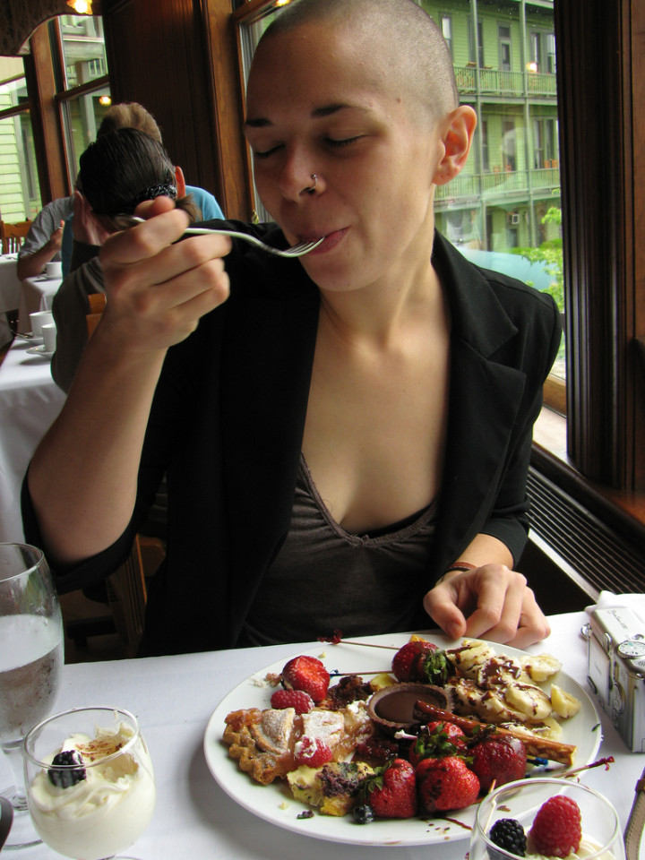 Mohonk and the Big Cheese: My Delicious Day Off - Sweet and Savoring [photo by Andy Milford]