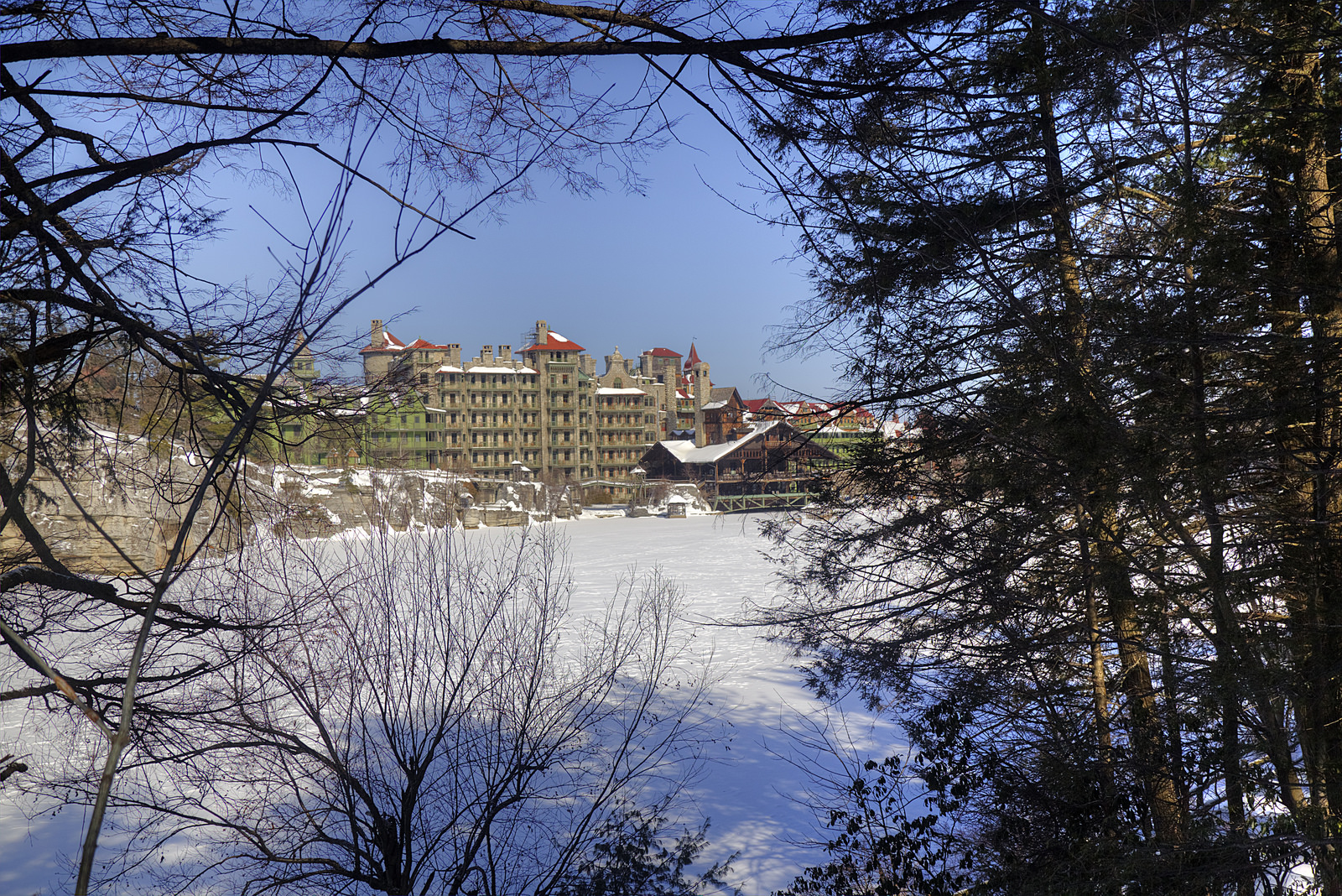 A winter visit to mohonk mountain house sweet and for Places to visit in new york in winter